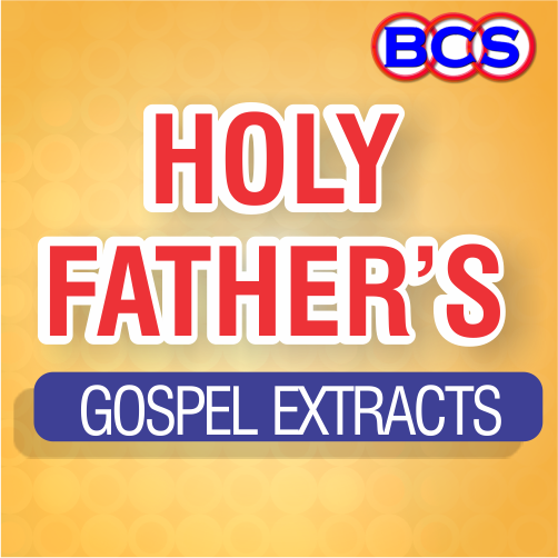 Holy Father Gospel Extract